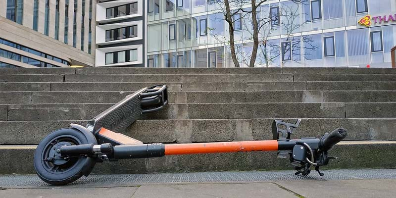 E-Scooter Unfälle steigen