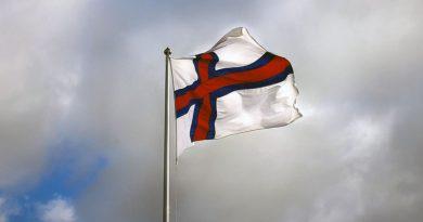 Färöer Sprache Flagge