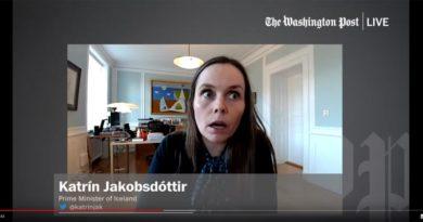 Katrin Jakobsdottir Erdbeben