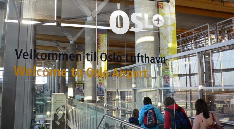 Flughafen Oslo Gardermoen