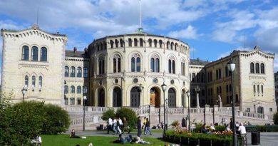 Storting Sitz Parlament Norwegen