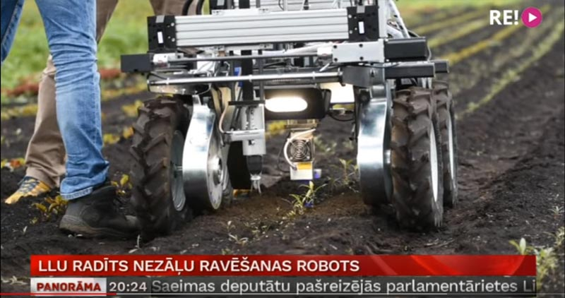 Unkraut-Roboter