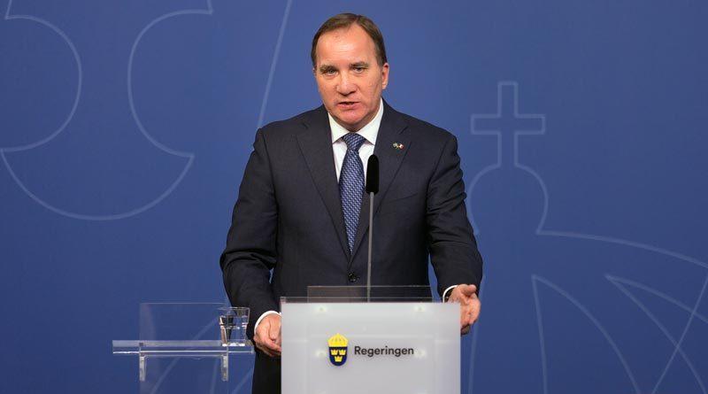 Stefan Löfven Lockdown Schweden