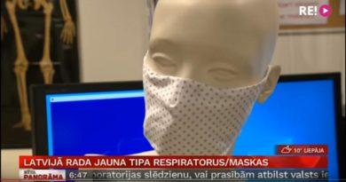 Atemschutzmaske Lettland