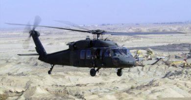 Black Hawk-Hubschrauber Litauen