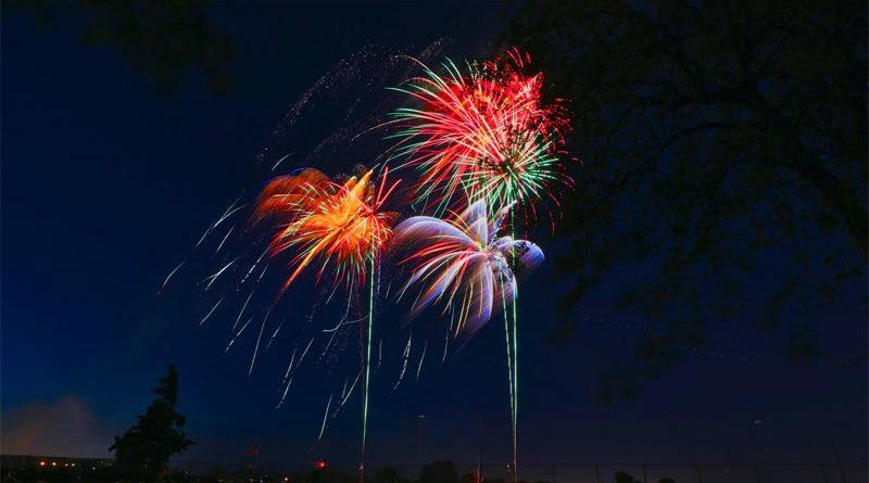 Feuerwerk Oslo Neujahr