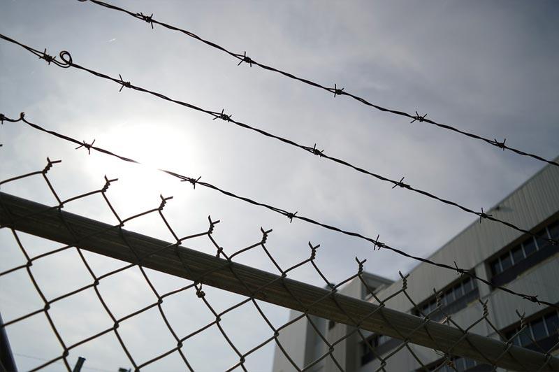 Gefängnis Riga Quarantäne