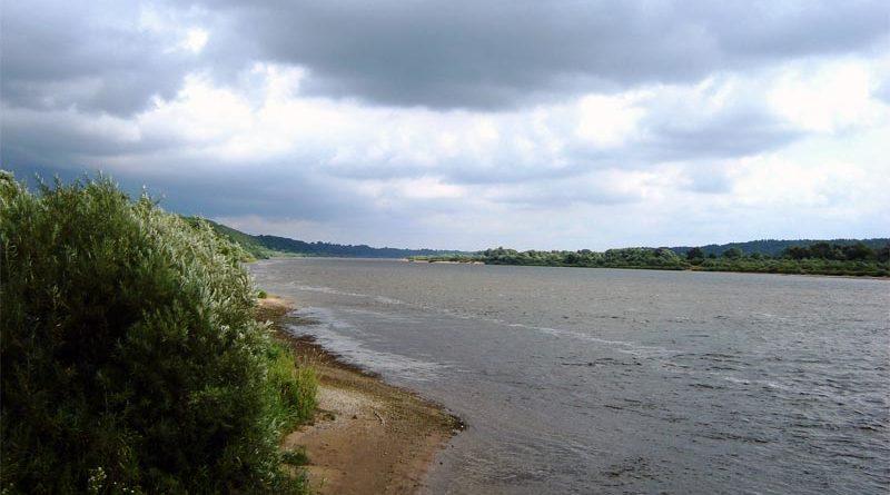 Grenze Memel Kaliningrad Litauen