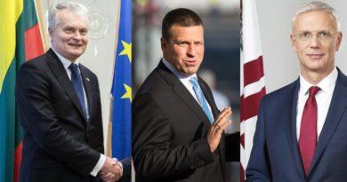 Ministerpräsidenten Baltikum