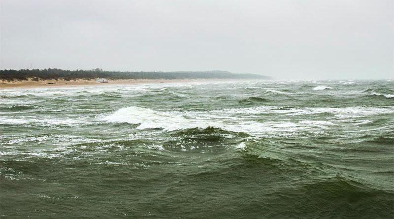 Ostsee Ölteppich Litauen
