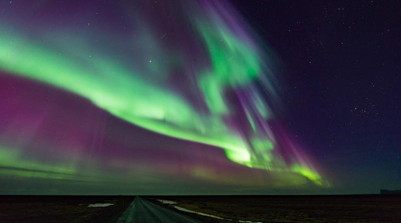 Nordlichter Island