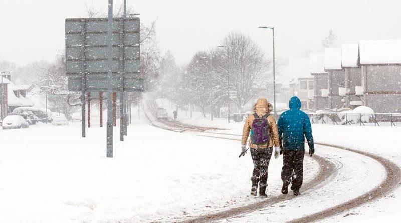 Schnee Weiße Weihnacht Schottland
