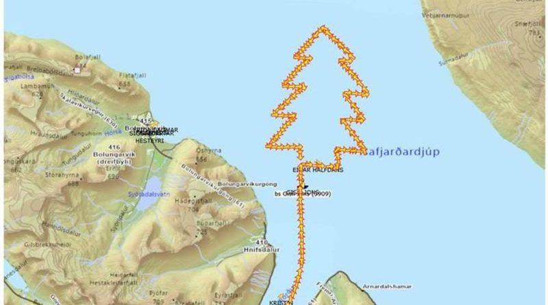 Weihnachtsgrüße aus Island