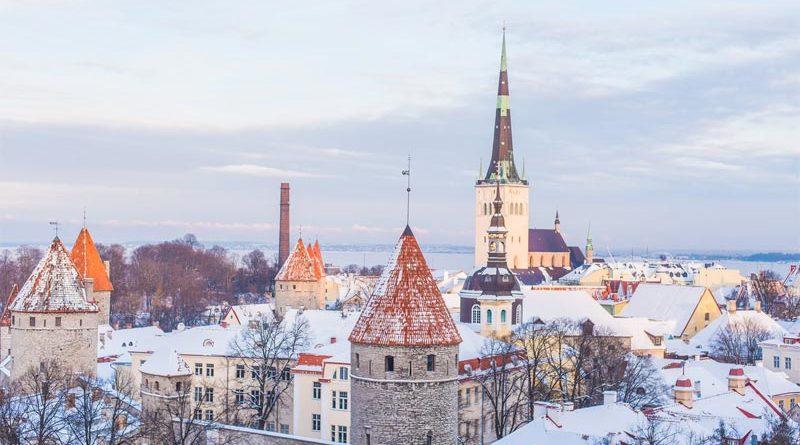 Altstadt Tallinn Winter