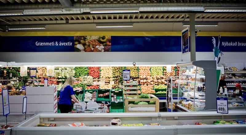 Bonus Supermarkt Plastiktüten