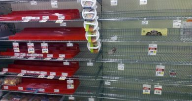 Lebensmittelknappheit Nordirland