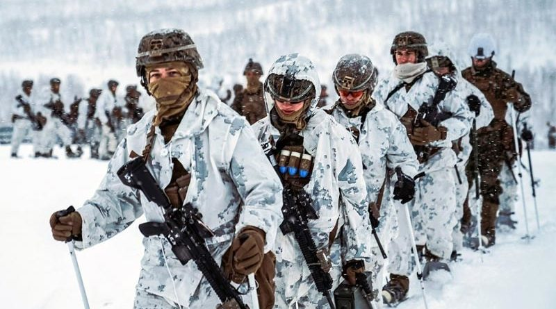 Militär Training Norwegen