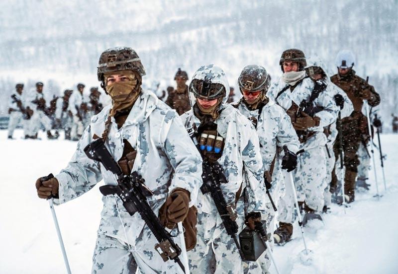Militär Training Norwegen