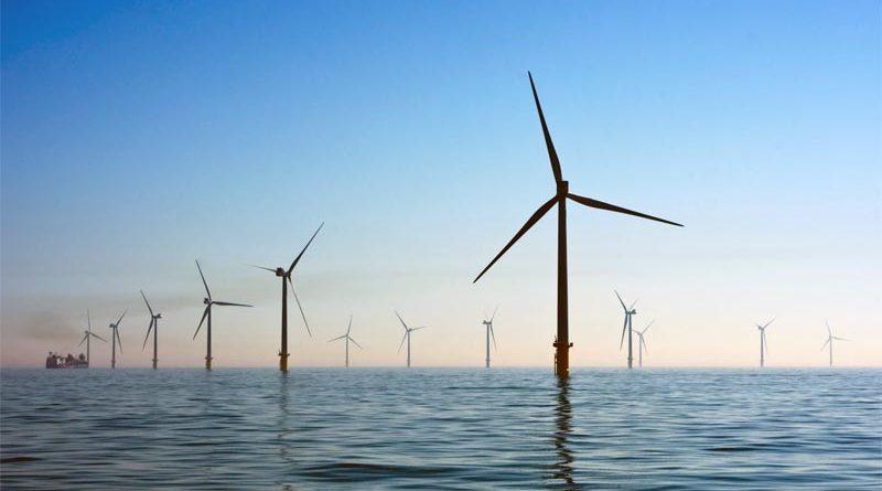 Kriegers Flak Windpark Dänemark