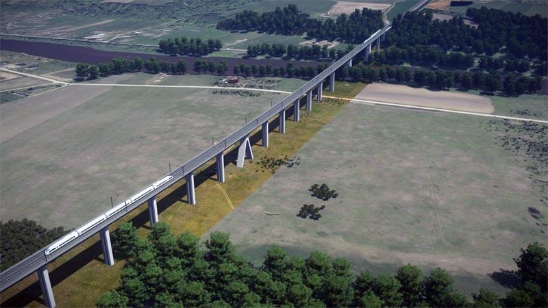 Rail Baltica Brücke
