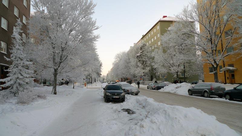 Winterwunderland Finnland