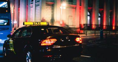 Taxi Überfall Dublin