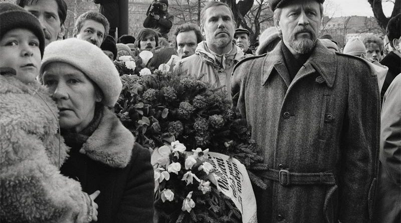 Trauerfeier Lettland Riga