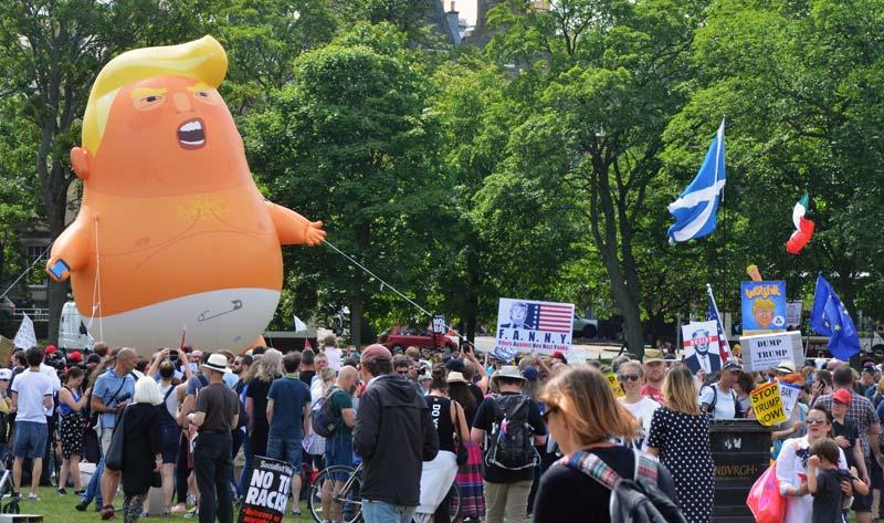 Donald Trump Einreiseverbot Schottland