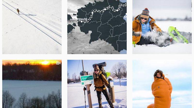 Estland: Junge Frau hat Hälfte ihrer Wanderung geschafft – nach 300 Kilometern