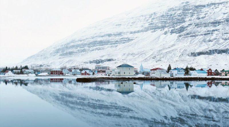 Erdrutschgefahr Seyðisfjörður