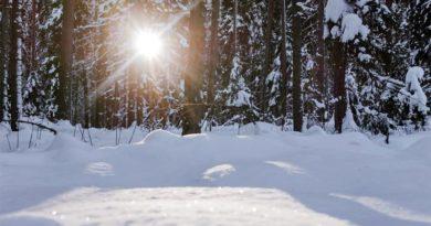 Wetter Winter Lettland