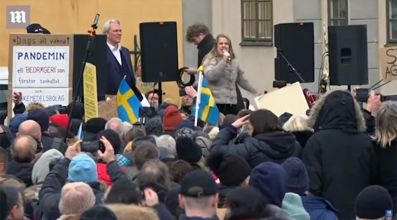Corona Demo Stockholm