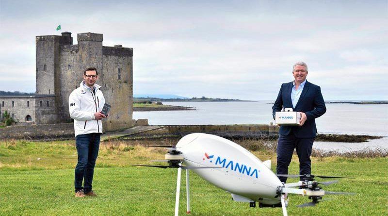 Drohnenlieferservice Manna Irland