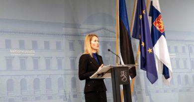 Kaja Kallas Corona Estland Lockdown