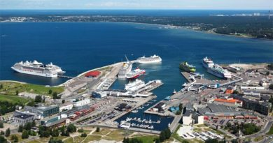 Hafen Tallinn Corona Schnelltest