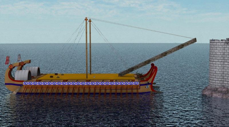 Römerschiff Handel