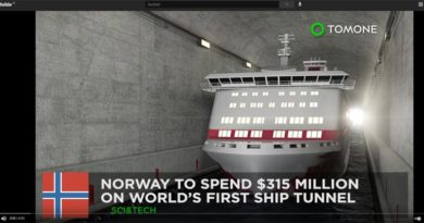 Schiffstunnel Norwegen