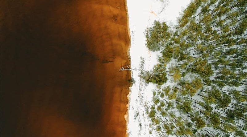 Schnee Frost Wetter Lettland
