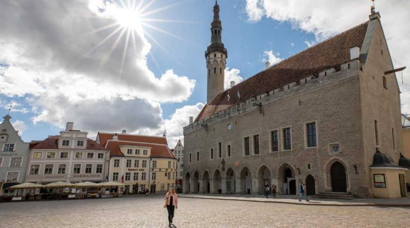 Tallinn Raekoja plats