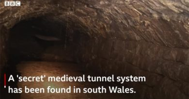 Mittelalter Tunnel Wales
