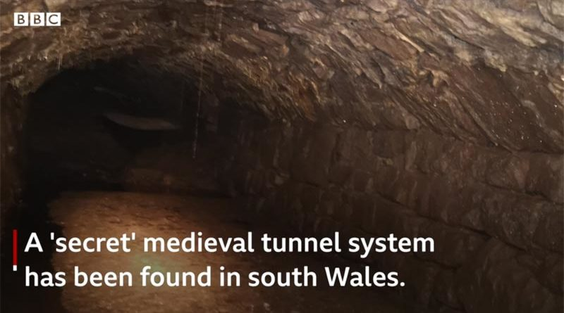 Mittelalter Tunnel Wales