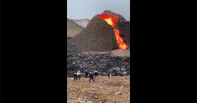 Vulkan Island Video Volleyball