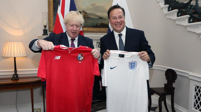 Boris Johnson Fußball WM EM Großbritannien
