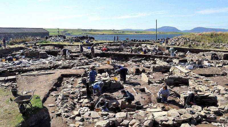 Ausgrabung Ness of Brodgar