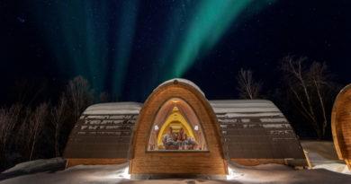 Außergewöhnliche Unterkunft Norwegen