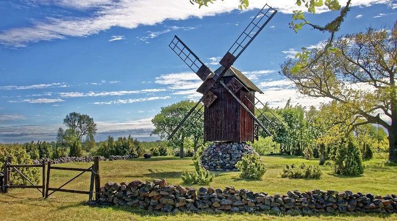 Windmuehle Insel Saaremaa