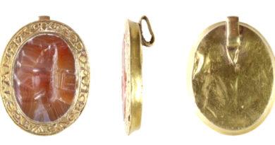 England: mysteriös verziertes Goldsiegel aus dem 13./14. Jahrhundert entdeckt