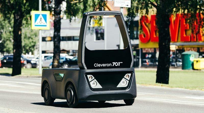 Erstes fahrerloses Fahrzeug Europas für Straßenverkehr zugelassen: Revolutioniert der Cleveron 701 den Online-Handel?