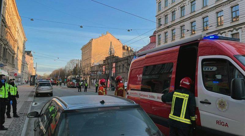 Feuer Riga