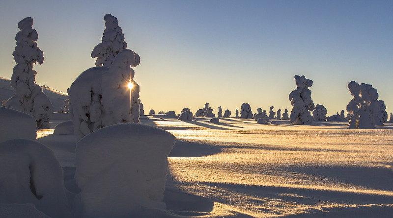 winter lappland finnland